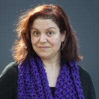 Cara Santos,katalonska pisateljica,Ljubljana Slovenija 20.03..2017 [Portret]